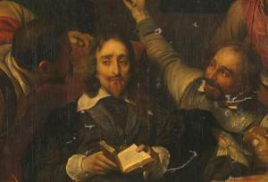Paul Delaroche painting thought lost, Reuters image