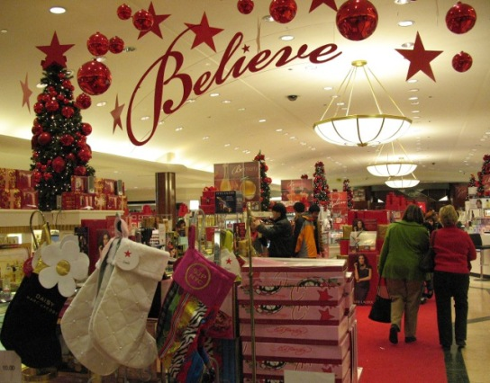 You can believe in the holiday season at Macy's this year