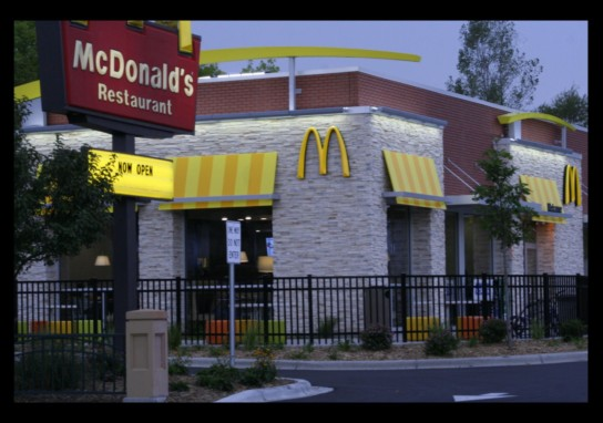 New McDonald's opens on East Lake Street in Minneapolis - photo by Doug Hovelson