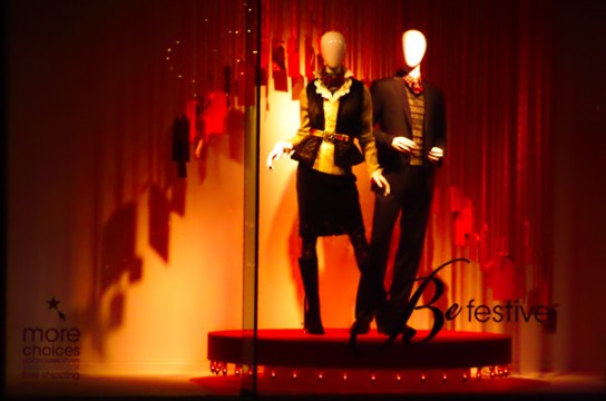 Macy's WIndow Display, holiday season,2012